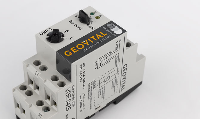 Circuit cut-off switch Geovital - electricity on demand