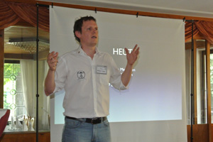Dietmar spoke on 'IT technical advancements'