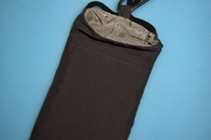 Phone radiation shielding pouch