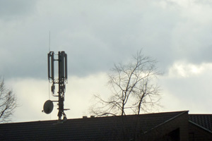 Mobile phone towers are reducing the value of real estate