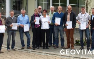 Geovital Geobilogy certification participants 2014
