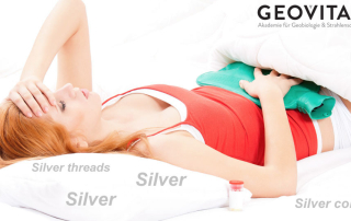 Does silver improve a sleeping environment?