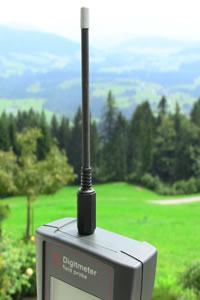 Geovital EM field probe - electric field measurement