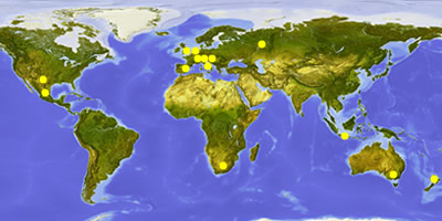 Geovital - Radiation Protection and Environmental Medicine all over the world