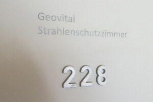 The GEOVITAL radiation protected hotel room 228