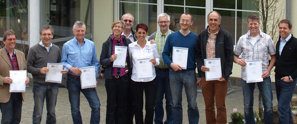 Graduates of GEOVITAL radiation assessment training