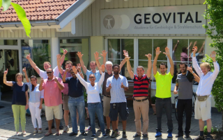 Delighted students at the end of the GEOVITAL workshop for radiation assessment and shielding