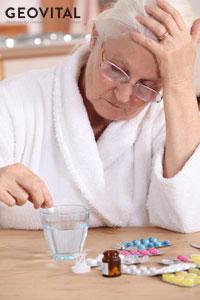 Medication intake must be reduced.