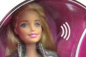 Hello Barbie uses WiFi and its associated electromagnetic radiation to talk with children