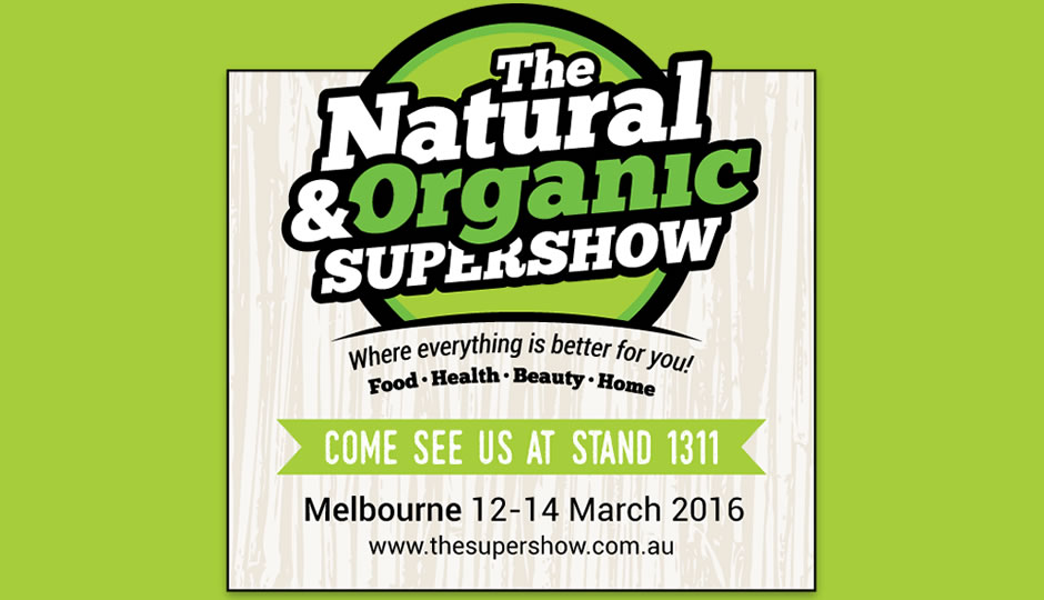 The Natural and Organic Supershow 2016 Melbourne