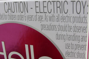 Caution on Hello Barbie packaging warns against electric shock only