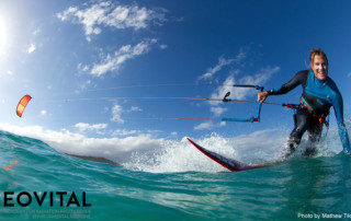 Professional Kitesurfer Gabi Steindl uses sleep on a physiologa mattress as a legal performance enhancer
