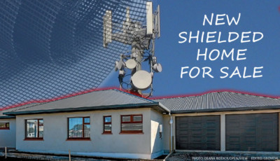 EMF Radiation protected hemp home for sale