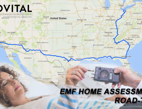 Brian's across USA EMF radiation home assessment road-trip in his shielded tiny house