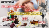 Radio frequency EMF radiation seems to have a link to affecting our gut function, promote biotoxins and chronic infections like candida, IBS, SIBO and lyme disease