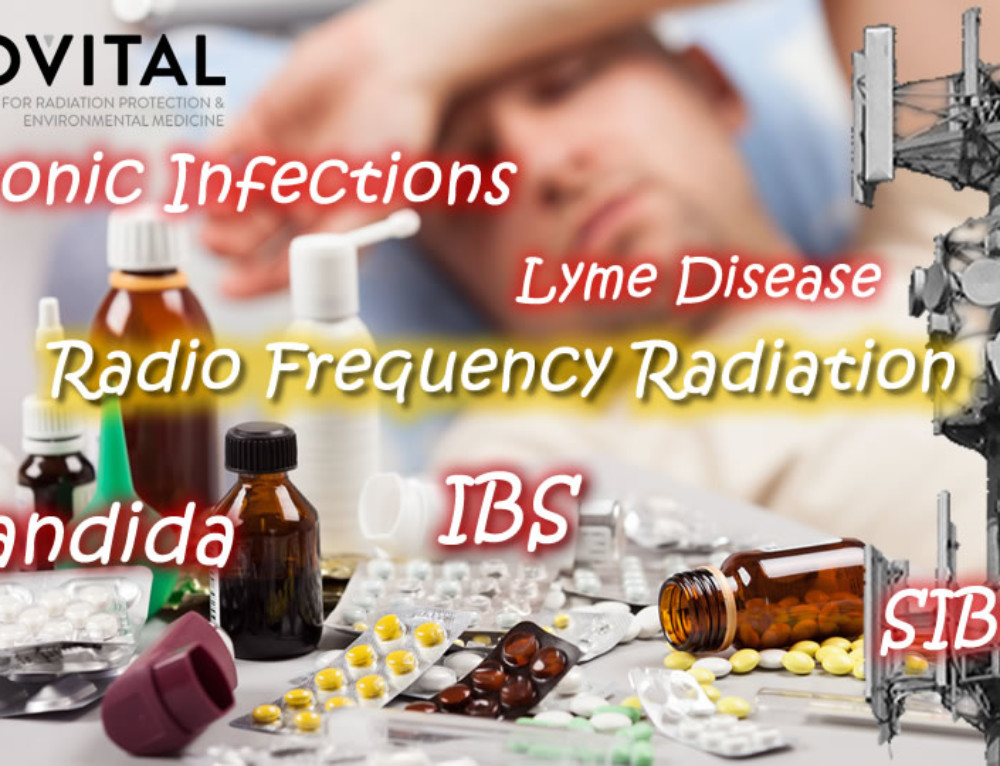 Is wireless RF technology driving chronic infections, like candida, fungus, SIBO, IBS and Lyme disease?