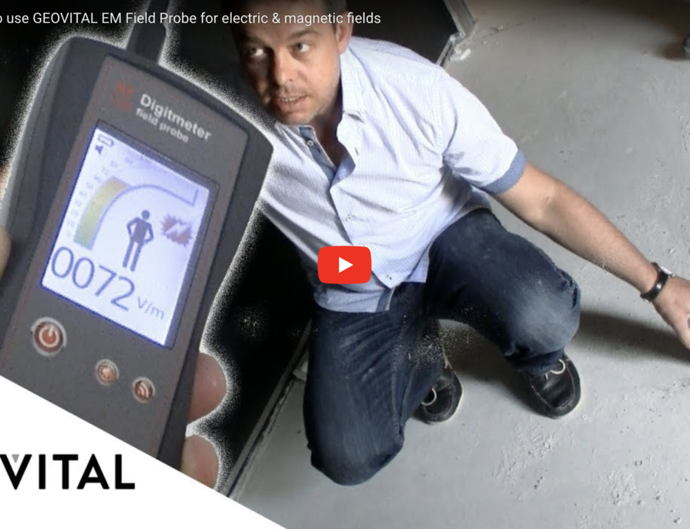Video Review: How to use GEOVITAL EM Field Probe for electric & magnetic fields