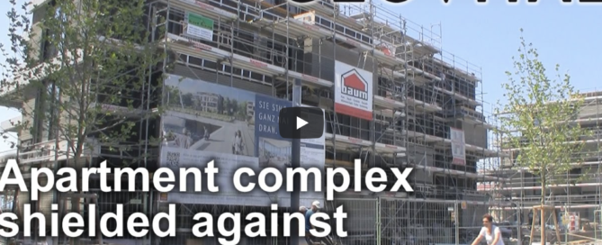 Video Apartment Comples RF Shielded against radiation