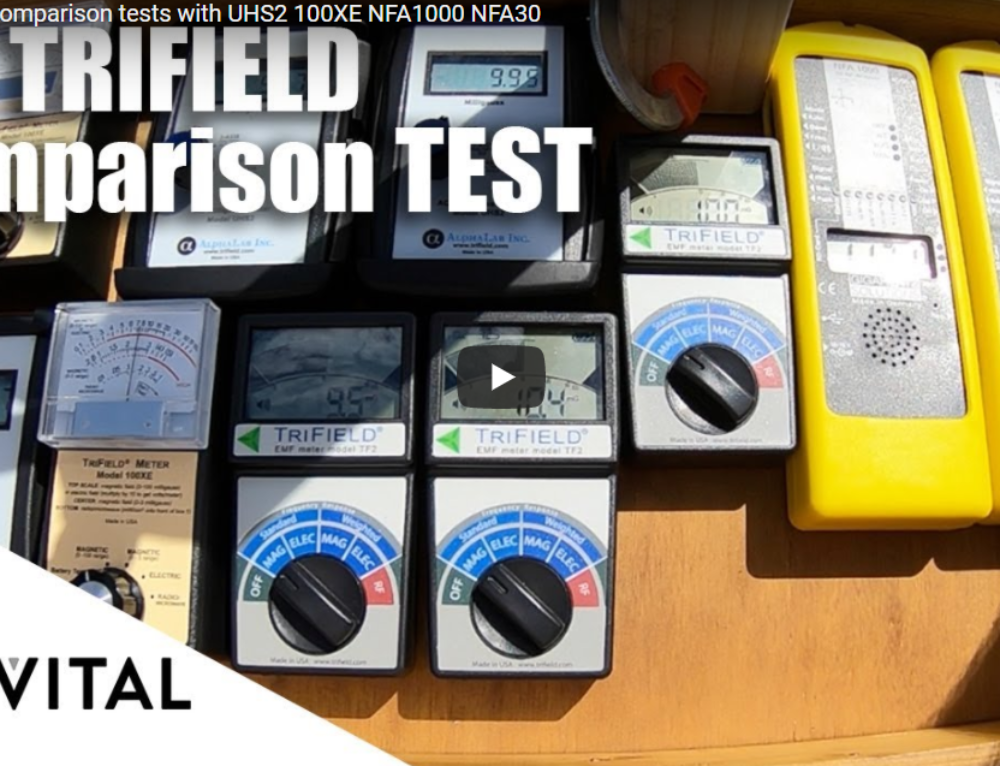 Video: Trifield TF2 Comparison tests with UHS2 100XE NFA1000 and NFA30