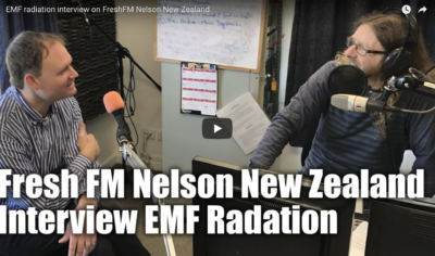 EMF radiation interview on FreshFM Nelson New Zealand