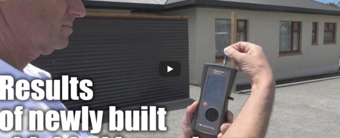 Video of results of EMF radiation shielded hemp home
