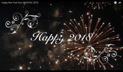 happy new year 2018 GEOVITAL