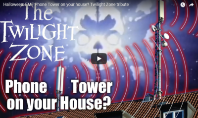 Halloween Twilight Zone Video EMF Radiation