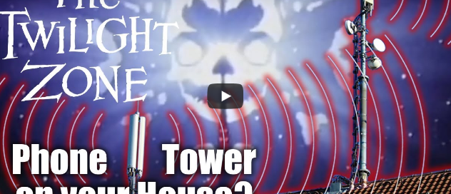 Halloween Twilight Zone Video EMF Radiation