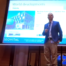 Patrick van der Burght presenting about EMF radiation in Malaysia