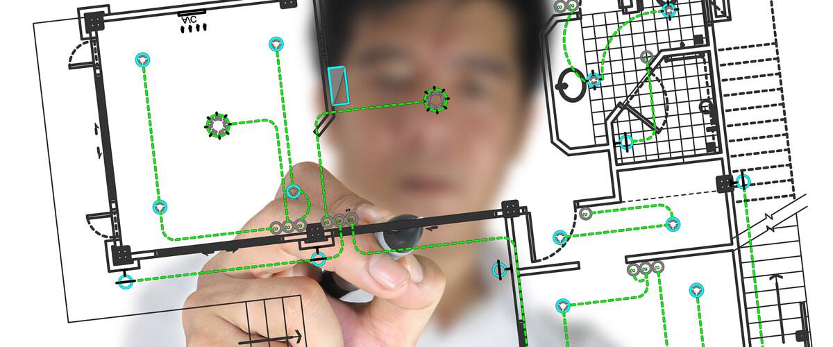 Building Planning Electrobiology