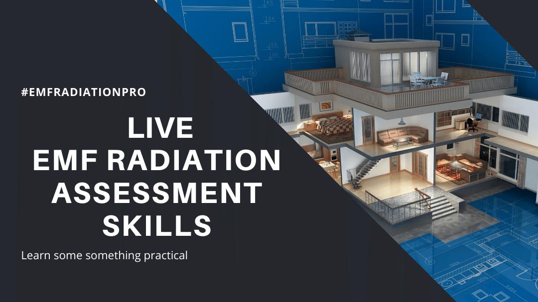 Live EMF radiation Assessment