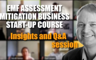 Patrick's EMF Assessment and Mitigation Business Start-Up Course