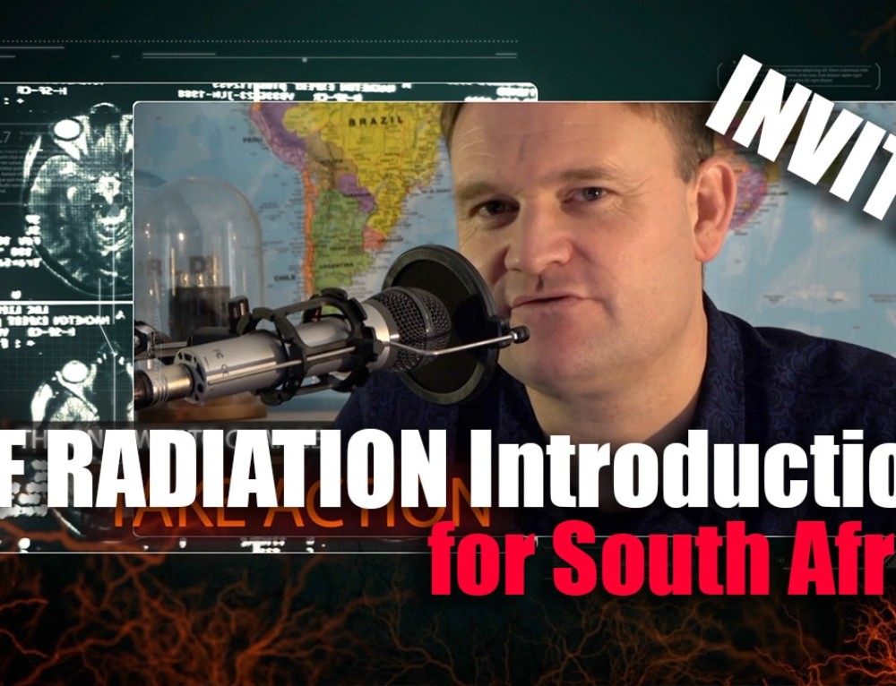INVITE: EMF Radiation Introduction Webinar for South Africa