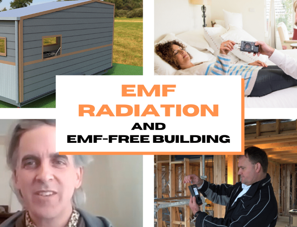 Video: EMF Radiation-Free Building of Extensions and Tiny Homes interview